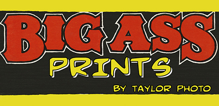 Big Ass Prints Logo - Princeton, NJ - Taylor Photographics